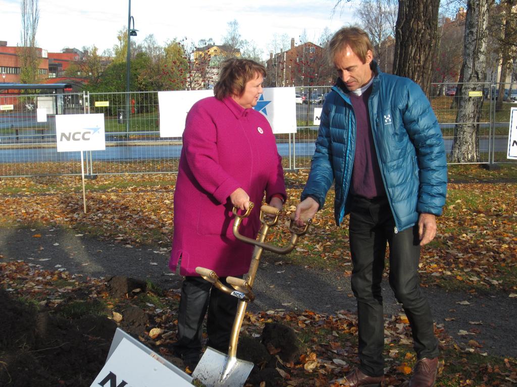 Ann-Sofie Andersson och Per Lundgren