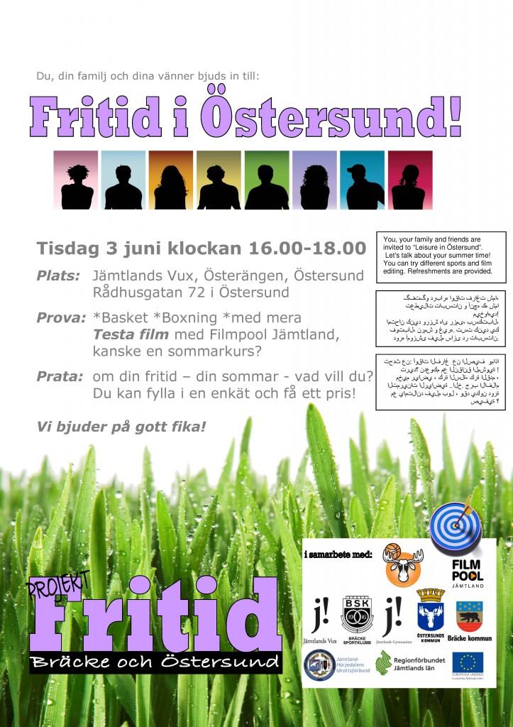 Fritid i Östersund 3 juni 2