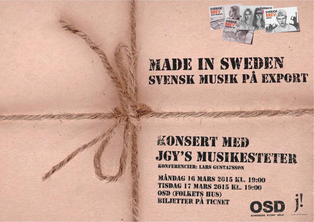 Made in sweden affisch