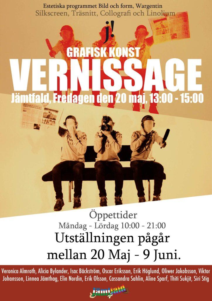 Vernissage Affisch2
